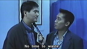Chow Yun Fat and Tony Leung