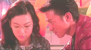 Kelly Lin and Andy Lau in Full-Time Killers