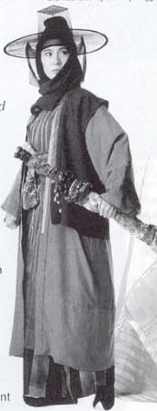 Michelle Yeoh in publicity shot for Dragon Inn