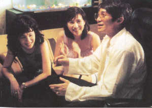 Sandra Ng, Suzi Kwan, Stephen Chow - laughing more than I certainly did
