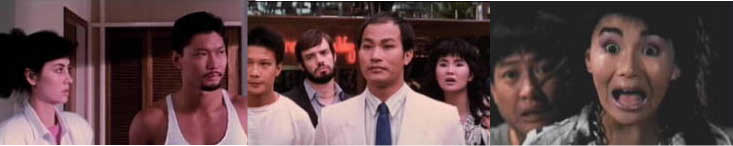 Joyce Godenzi, Billy Chow, Dick Wei